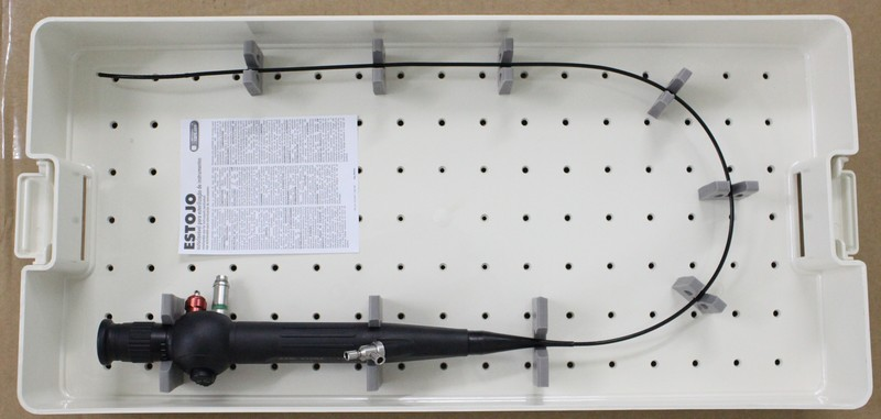 Estojo de esterilização para Ureteroscópio Flexível